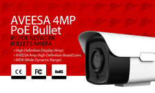 AVEESA IP POE CCTV Bullet Camera 4MP 3.6mm compatible with hikvision NVR 60m IR