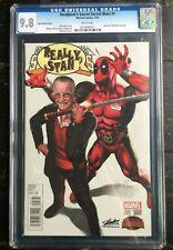 Deadpools Secret Secret Wars #1 Greg Horn Stan Lee Variant CGC 9.8