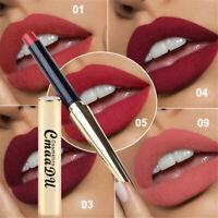 CmaaDu 12 Colors Lipstick Waterproof Long lasting Non-stick Cup Moisturizing