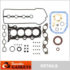 Fits 00-12 Toyota Echo Yaris Scion XA XB 1.5L Full Gasket Set 1NZFE