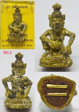 Phra Lersi Hermit Face Tiger Saenheng LP Saen Thai Buddha Amulet Attract Luck #2