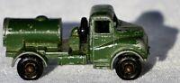 Vintage Matchbox Lesney 71a Austin 200 Gallon Water Truck Olive Green 1959