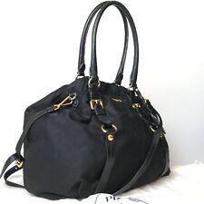 PRADA nylon 2way shoulder bag black used 3206-10bZ30