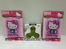 Sanrio Hello Kitty Jumbo Eraser 2 Pk 375 X 25 With Bonus Hand Spinner