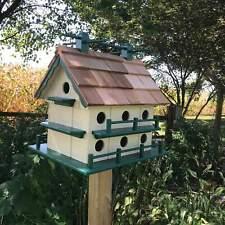 Martin House | Large Birdhouse | Amish Made | Yard and Garden Decor | K0003