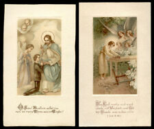 lotto santini-holy cards lot-lot images pieuses-konvolut heiligenbildichen 2077