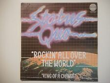 STATUS QUO : ROCKIN ALL OVER THE WORLD ♦ 45 TOURS PORT GRATUIT ♦