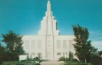 A)  Idaho Falls, ID - Latter Day Saints Temple - Exterior and Grounds