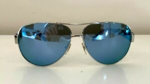 TORY BURCH silver framed sunglasses - $299 AS NEW!