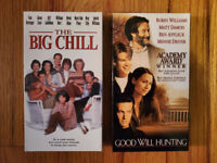 (Lot2) The Big Chill 83 Good Will Hunting 97 RARE CLASSIC HTF OOP! ORGINAL Drama
