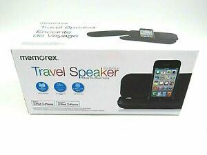 Memorex Portable Travel Speaker for iPhone and iPod - Works with iPhone NIB