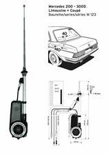 16cm RS KFZ FM//AM Antenne Autoantenne Mercedes Benz MB Citan Cabriolet Coupe #