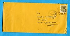 1968 AMB.CAGLIARI - OLBIA 23 (B) guller su £.50 SIR.su B carta gialla  (303700)