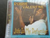 ROBBIE  VALENTINE   -    JAH  IS  MY  DEFENDER   CD  2003 ,  ROOTS  REGGAE , DUB