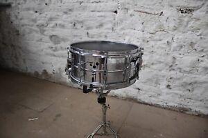 Vintage Sonor D506 Metal Snare Drum