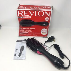 Revlon One Step Hair Dryer Volumizer Brush Professional Home Styling, Black