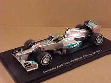 Spark 1/43 Resin Mercedes AMG W03, Winner 2012 Chinese GP, Nico Rosberg  #S3043