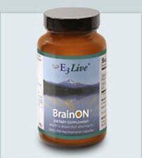 E3Live BrainON 240 capsules, 400mg, AFA blue-green algae, phenylethylamine (PEA)