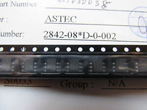 AS2842/D-8, UC3842 ASTEC Current Mode PWM Controller 8pin SOIC Quantity: