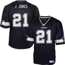 Dallas Cowboys NFL  #21 Julius Jones Navy Jersey by Reebok  NWT XXL