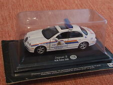 CANADIAN 2002 JAGUAR S TYPE POLICE VEHICLE 1:43 SCALE