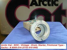 Arctic Cat Recoil Drum, Starter, Frictional Type Sachs #6000-214 VINTAGE