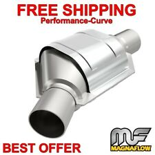 "MagnaFlow 2.5"" Angled Offset / Center Catalytic Converter OBDII 99176HM"