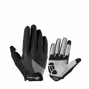 RockBros Full Finger Autumn Winter Cycling Gloves Warm Touch Screen Bike Gloves
