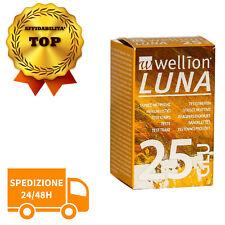 NUOVO Wellion Luna 25 strisce reattive Controllo Glicemia