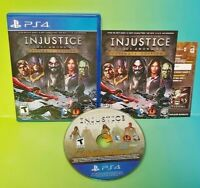 Injustice: Gods Among Us Ultimate Edition  PS4 Sony Playstation 4  GAME COMPLETE