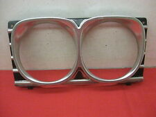 1967 Chevy Impala Belair Biscayne 2 & 4 Door Sedan headlight molding bezel 0141