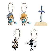 Legend of Zelda Breath of the Wild Mascot * Complete 5 Gashapon Keychain Japan