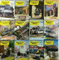 (Lot of 12) 1995 Railroad Model Craftsman Magazines