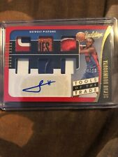 2019-20 Absolute Sekou Doumbouya Auto Tools Of The Trade Six Relic 8/10 Pistons