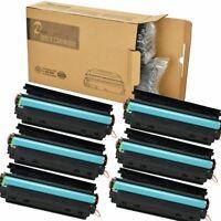 6PK CE285A 85A Black Toner Cartridges for LaserJet Pro P1102W M1217nfw P1102w