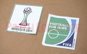 Club World Cup Morocco 2014 Sleeve Soccer Patch / Badge