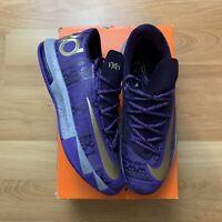 Nike KD 6 BHM Black History Month Size Men 9.5 646742-500 Basketball NBA Purple