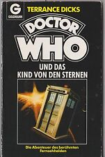 V rare: GERMAN Dr Doctor Who and An Unearthly Child. Target books