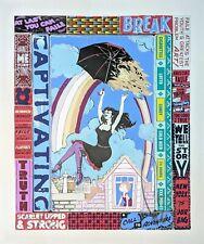 FAILE A Call To Adventure SIGNED Ltd x/225 MINT 2013 Art Screen Print Poster
