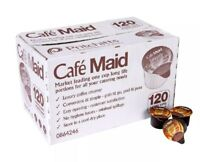 120 X 12ml Pots Portions Cafe Milac Maid Coffee Creamer UHT Milk Cream Chocolate