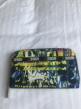 LESPORTSAC Zip Around Wallet One Size Call blooming pattern gently used good con