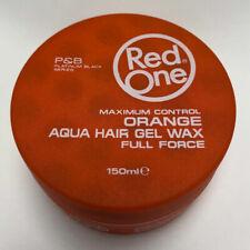 Red One Maximum Control Orange Aqua Hair Gel Wax Full Force