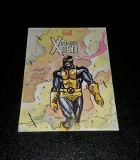 Upper Deck Marvel Now Sketch Card ..Cyclops