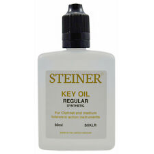 More details for specialist clarinet key oil 60ml by steiner music