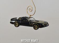 Smokey and the Bandit 1977 Trans Am Firebird Bandit Christmas Ornament 1/64 T/A