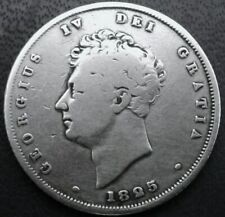GEORGE.1825.. IV BRITISH SILVER COIN - SILVER 925 °/°° .23.6 MM