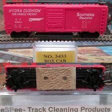 eSPee TRACK CLEANING BOX CAR - Model Power - SP / Southern Pacific - N Scale MTL