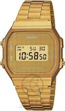 Relojes de pulsera Casio de acero inoxidable dorado para hombre