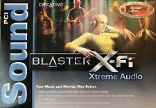 Creative Sound Blaster X-Fi Xtreme Audio SB0790 PCI 7.1 THX Certified Sound Card