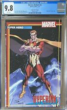 """Heroes Reborn #2 Bagley """"Hyperion"""" Trading Card Variant CGC 9.8"""